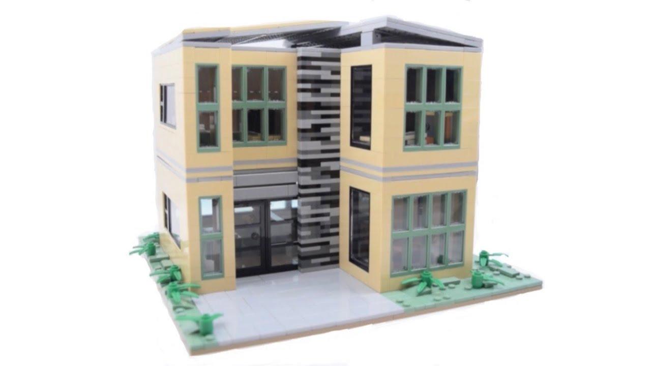 HUGE LEGO MODERN HOUSE MOC