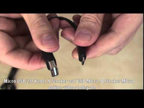 Micro USB 2 0 Kabel A Stecker auf USB Micro B Stecker Micro