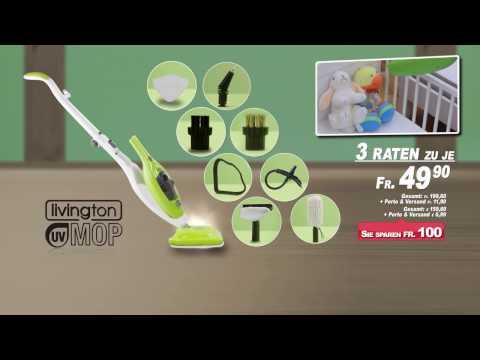 Livington UV Mop Steam Cleaner
