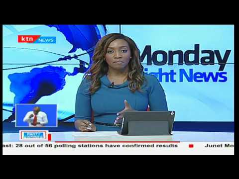 Monday Night News full bulletin part two: Jubilee primaries across the counties - 24th April 2017