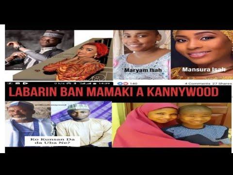 Download Labaran Abin Mamaki A Kannywood Hausa Fim HD Mp4 3GP Video and MP3