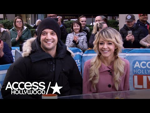 Lindsey Stirling & Mark Ballas Set Their Sights On The 'DWTS' Mirrorball | Access Hollywood