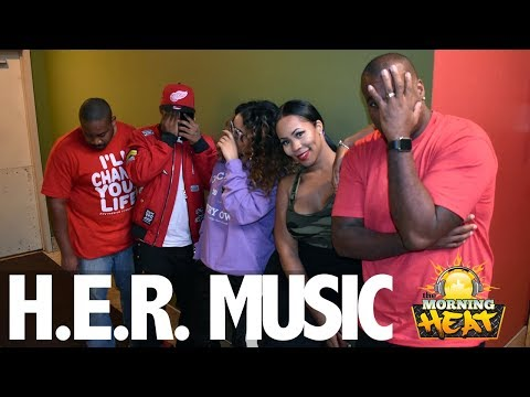 Who Is H.E.R? The Morning Heat Interviews H.E.R For The First Time!!