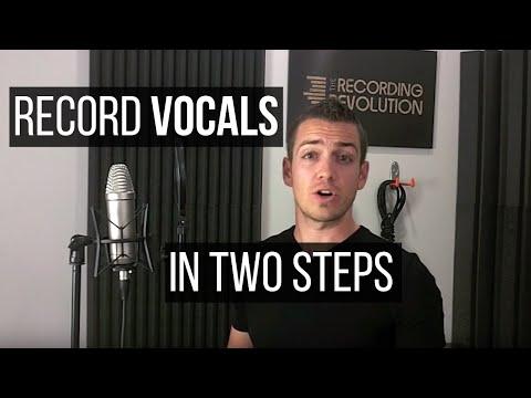 הקלטת שירה ב-2 צעדים חשובים