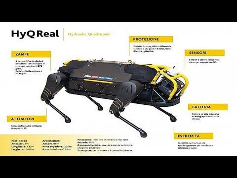 Dall'IIT di Genova ecco HyQReal, il robot per le emergenze