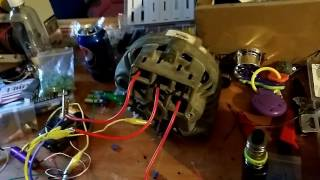 HOW TO MAKE A BLDC MOTOR FROM A CAR ALTERNATOR