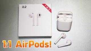 i12 TWS Bluetooth Kopfhörer (Deutsch) - 1:1 Fake Apple AirPods für 20 Euro!