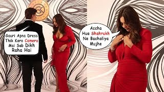 Shahrukh Khan Saves Wife Gauri Khan From EMBRRASSING MOMENT In Public