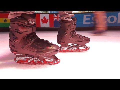 Adapta tus patines para patinaje en hielo