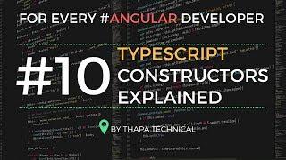 Typescript Tutorial for Beginners in Hindi #10: Constructor in Typescript in Hindi