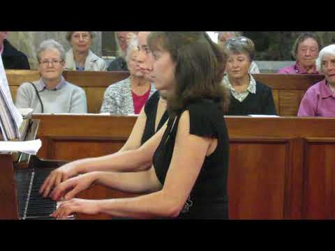 Capriol Suite by Peter Warlock, I'm playing Primo in the first movement