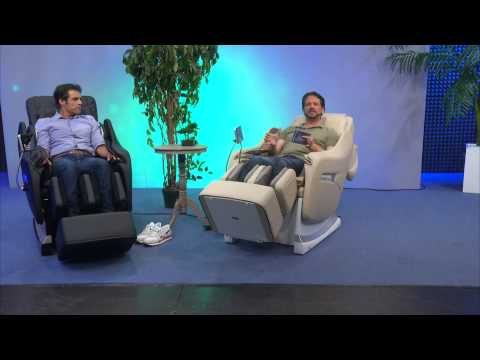 newgen medicals Ganzkörper-Massagesessel GMS-200.bt (schwarz)
