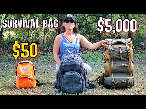 $50 Survival Kit Vs. $5000 Survival Kit