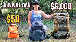 $50 Survival Kit Vs. $5000 Survival Kit