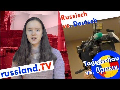 Tagesschau vs. russische Nachrichten [Video]