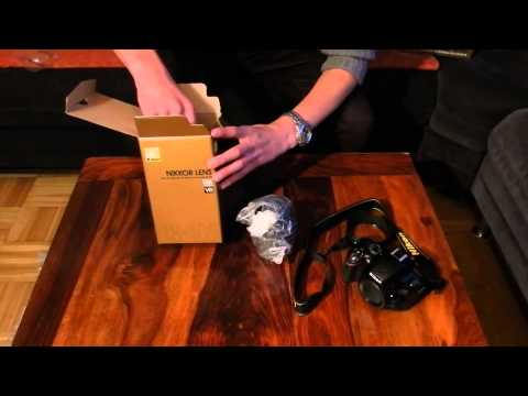 NIKON D5100 18-105mm UNBOXING, REVIEW, TEST german