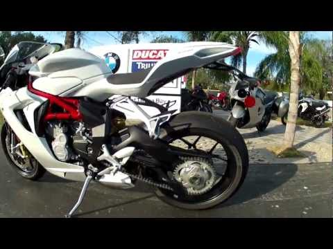 2013 MV Agusta F3 675 in White at Euro Cycles of Tampa Bay