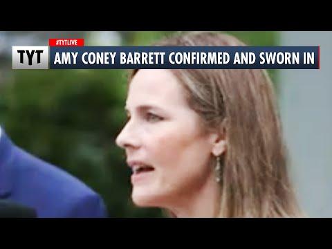 Amy Coney Barrett Confirmed and Sworn In