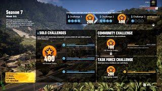 Season 7 Week 3/4 Task Force Challenge - Ghost Recon Wildlands