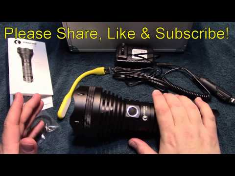 Lunintop SD75 flashlight review!
