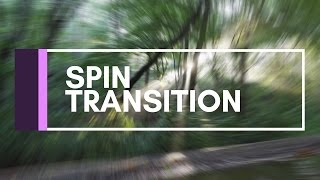 Premiere Pro Tutorial | Spin Transition
