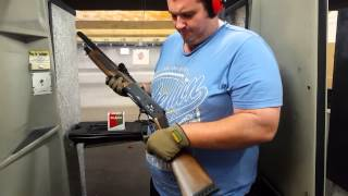 Adler A110 lever action 12g shotgun hits Australia