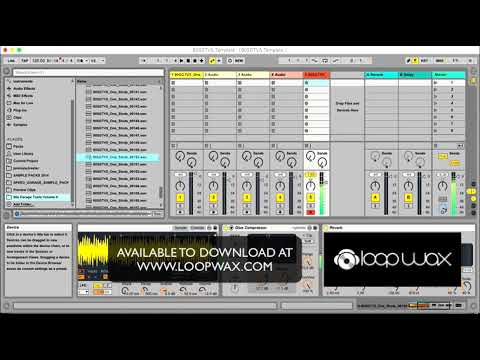 How to make UK Garage House 'donk' bass, drums and chords