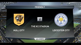 HULL CITY Vs LEICESTER CITY FIFA 16 BARCLAYS PREMIER LEAGUE GAMEPLAY MATCHDAY 1