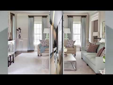 Modernes Wohnzimmer Vorhang Ideen | Haus Ideen