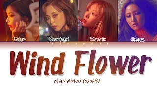 MAMAMOO(마마무)  - WIND FLOWER (Color Coded Lyrics Eng/Rom/Han/가사)