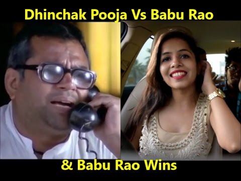 Dhinchak Pooja vs Babu Rao | Dhinchak Girl vs Legend