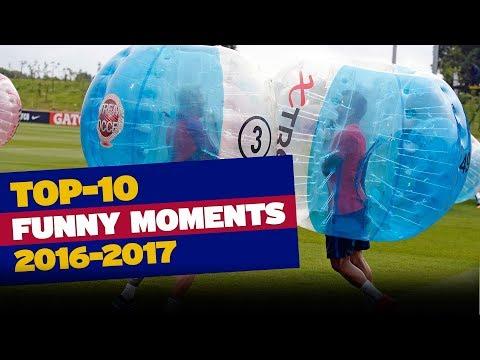FC Barcelona's TOP 10 funny moments (season 2016/17)