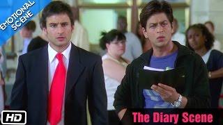 The Diary Scene - Emotional Scene - Kal Ho Naa Ho - Shahrukh Khan, Saif Ali Khan  Preity Zinta