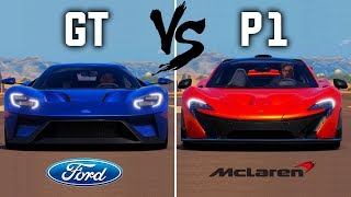 Ford GT vs McLaren P1 | Forza Horizon 3