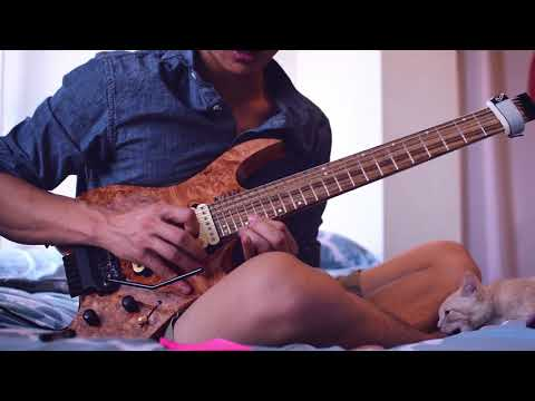 Soloing over a metal-infused Taylor Swift track