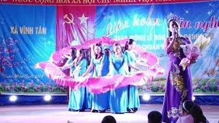Xã Vĩnh Tân liên hoan văn nghệ đón nhận xã nông thôn mới