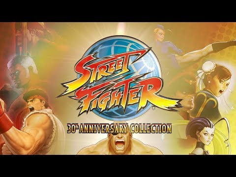 Street Fighter 30th Anniversary Collection - Trailer d'annonce de Street Fighter 30th Anniversary Collection