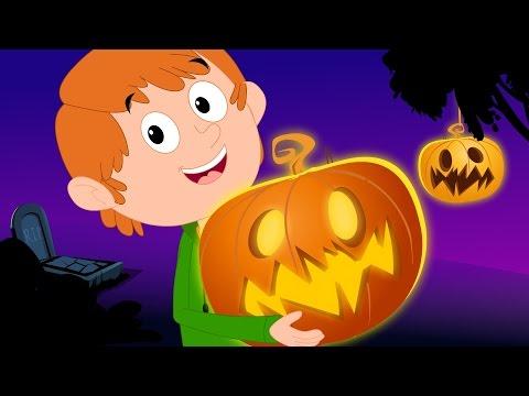 Scary Nursery Rhymes   Jack O'Lantern   Halloween Song For Kids