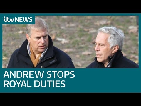 Prince Andrew steps down from royal duties | ITV News