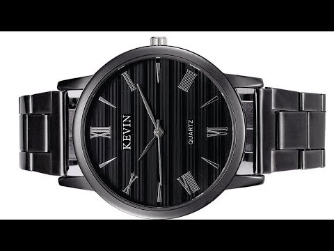 Watch Kevin 2280 Men Black Stainless Steel ( Reloj Hombre ) - All in Review CHINA OFERTAS