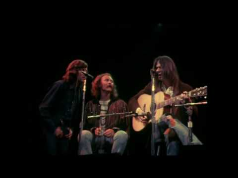 Crosby Stills Nash and Young - Only Love Can Break Your Heart live Fillmore East 1970