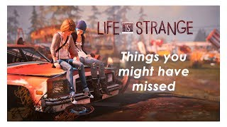 Life is Strange - Things you might have missed