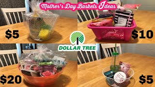 2020 DIY MOTHER'S DAY GIFT BASKETS | DOLLAR TREE