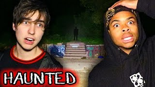 CHASED by CULT at Enchanted Forest (Scary)