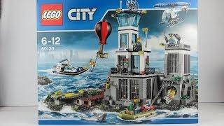 LEGO Polizei deutsch: Polizeistation auf der Gefängnisinsel ausgepackt bauen 60130