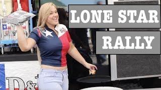 Lone Star Rally / Ashley rides Indian Challenger