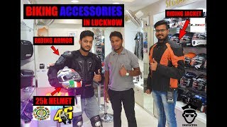 Royal Enfield Accessories || Lalbagh Lucknow || Indian On