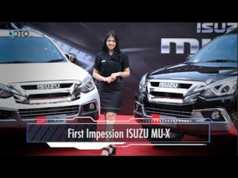 First Impession ISUZU MU-X I OTO.COM