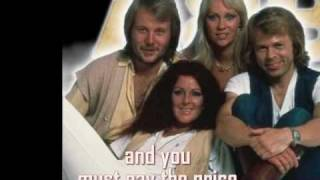 Abba - Angeleyes  (With Lyrics)