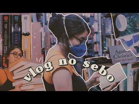 UM DIA NO SEBO COMIGO | VLOG TROCANDO LIVROS (BOOK UNHAUL) + BRECHÓ ???